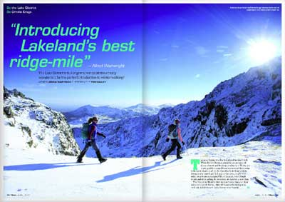 GO  the Lake District -  DO  Crinkle Crags