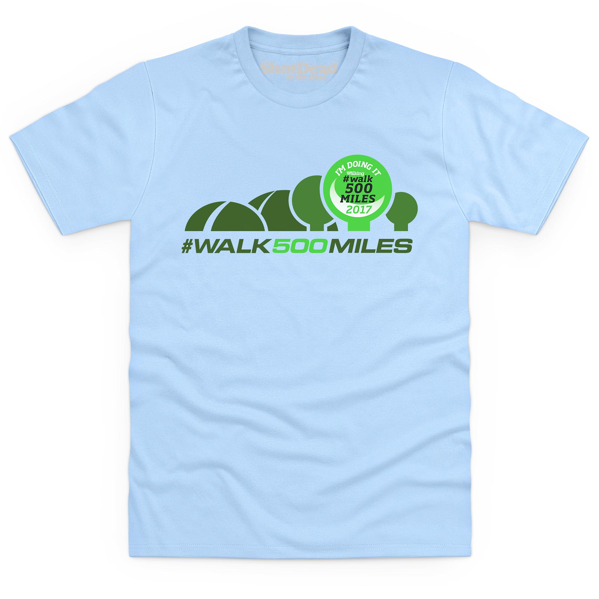 500-mile t-shirts