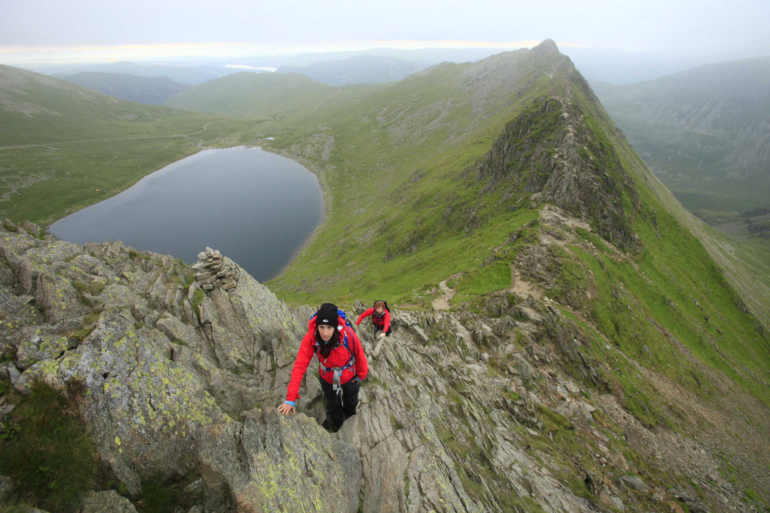 ...and the same ridge in summer. Conditions can be completely different just weeks apart, so check the forecast! Photos: Tom Bailey, Trail Magazine.