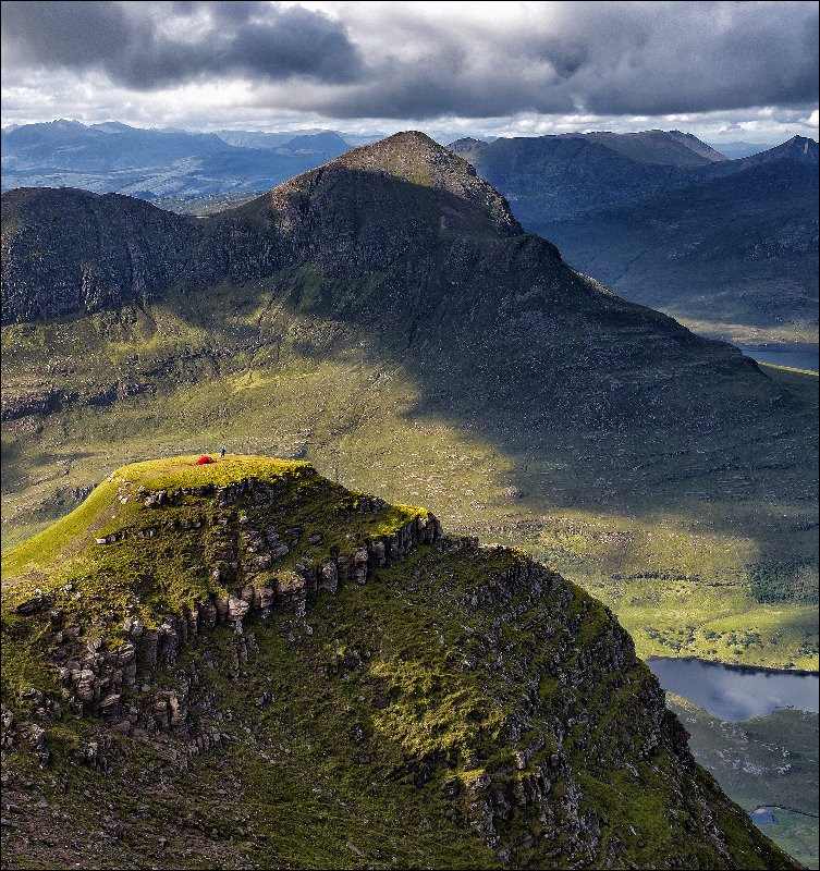 Cul Mor in the north-west Highlands of Scotland, as shot by  John McSporran .