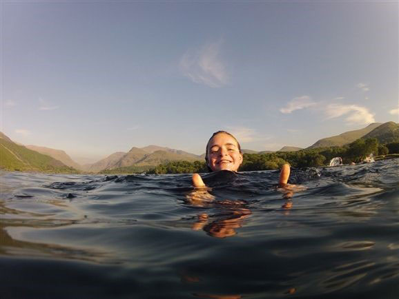 Wild swimming in Snowdonia, which will now be legally permitted on open access land under the new laws. Photo: Ray Wood