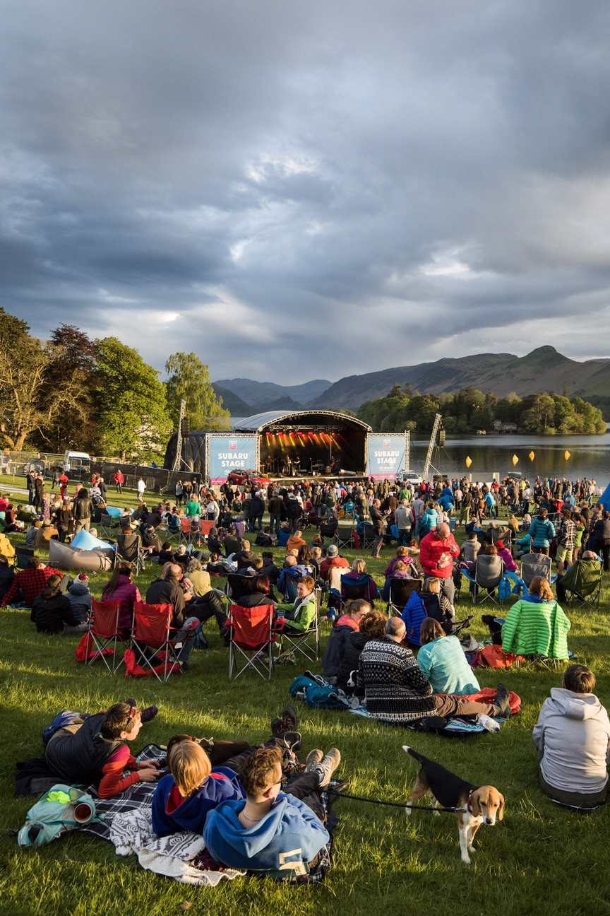 A stunning setting for live music at the 2019 Keswick Mountain Festival - photo by Dougie Cunningham.jpeg