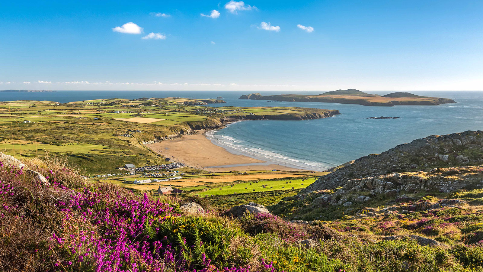Pembrokeshire CP - Whitesands Bay & Ramsey Island