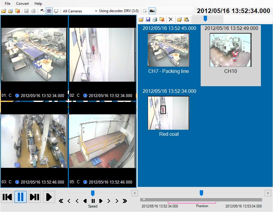 CCTV storyboard