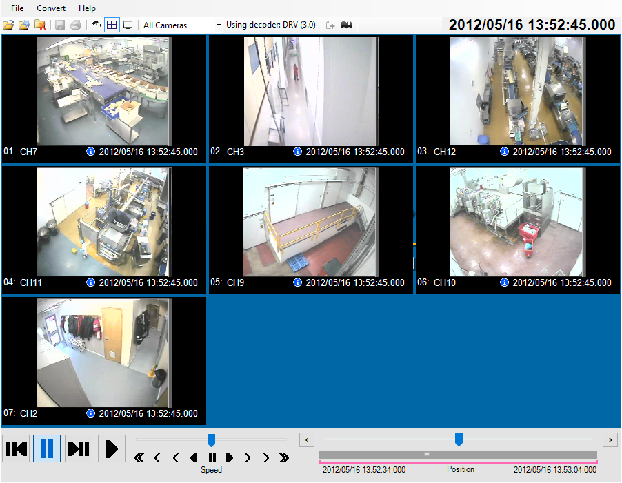 CCTV video navigation