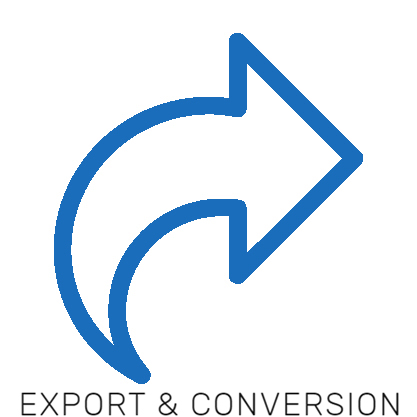 Export and conversion