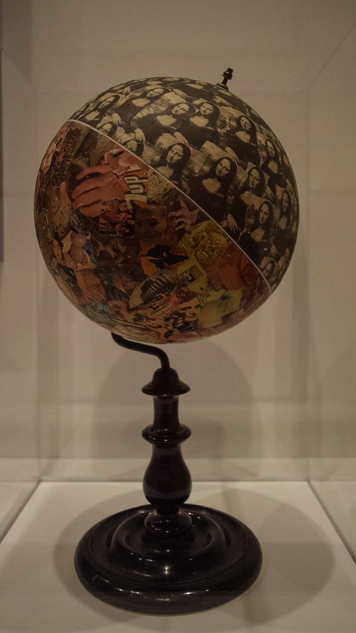 Mona Lisa Environment (Globe), Jiri Kolar, 1964