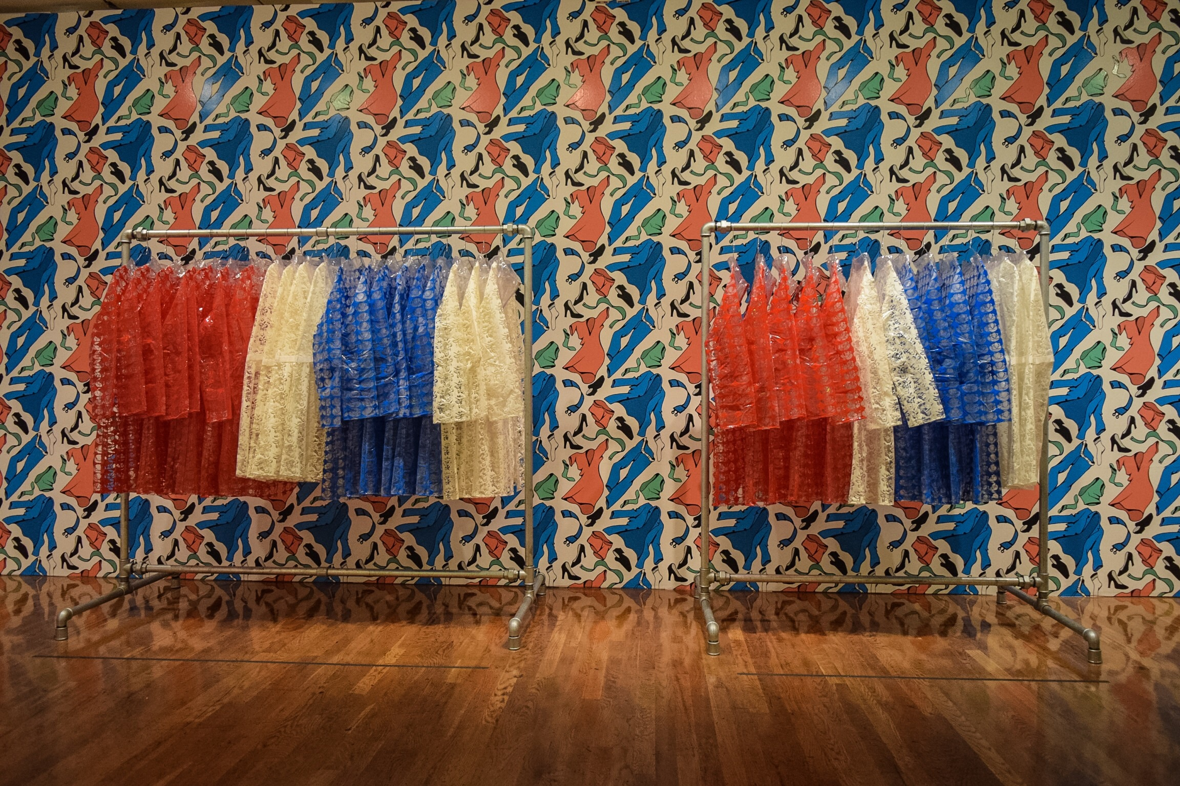 Clothes Rack 2 and Clothes Rack 3, Thomas Baarle, 1968