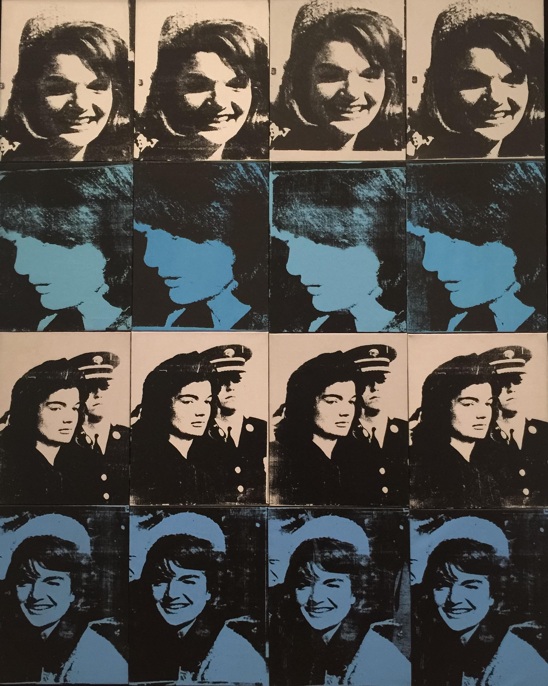 Sixteen Jackies, Andy Warhol, 1964