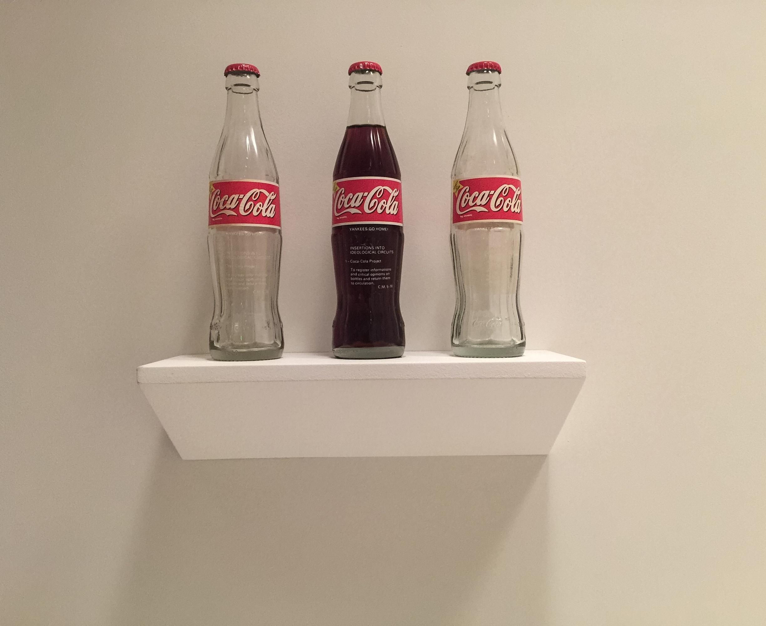 Insertions into Ideological Circuits: Coca Cola Project, Cildo Meirelles, 1970