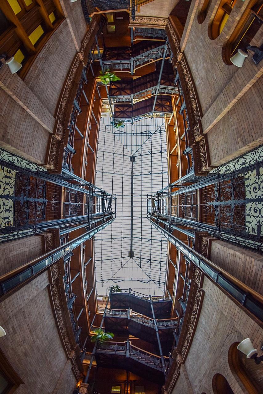 The Bradbury Building, Los Angeles