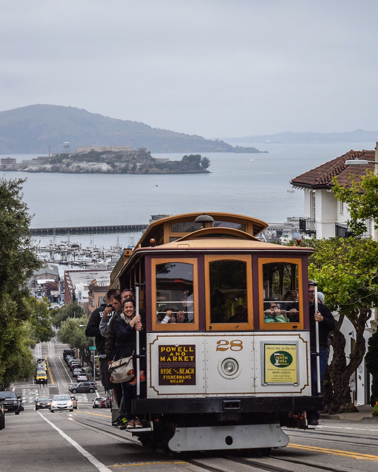 San Francisco - To be where little cable cars climb halfway to the stars...