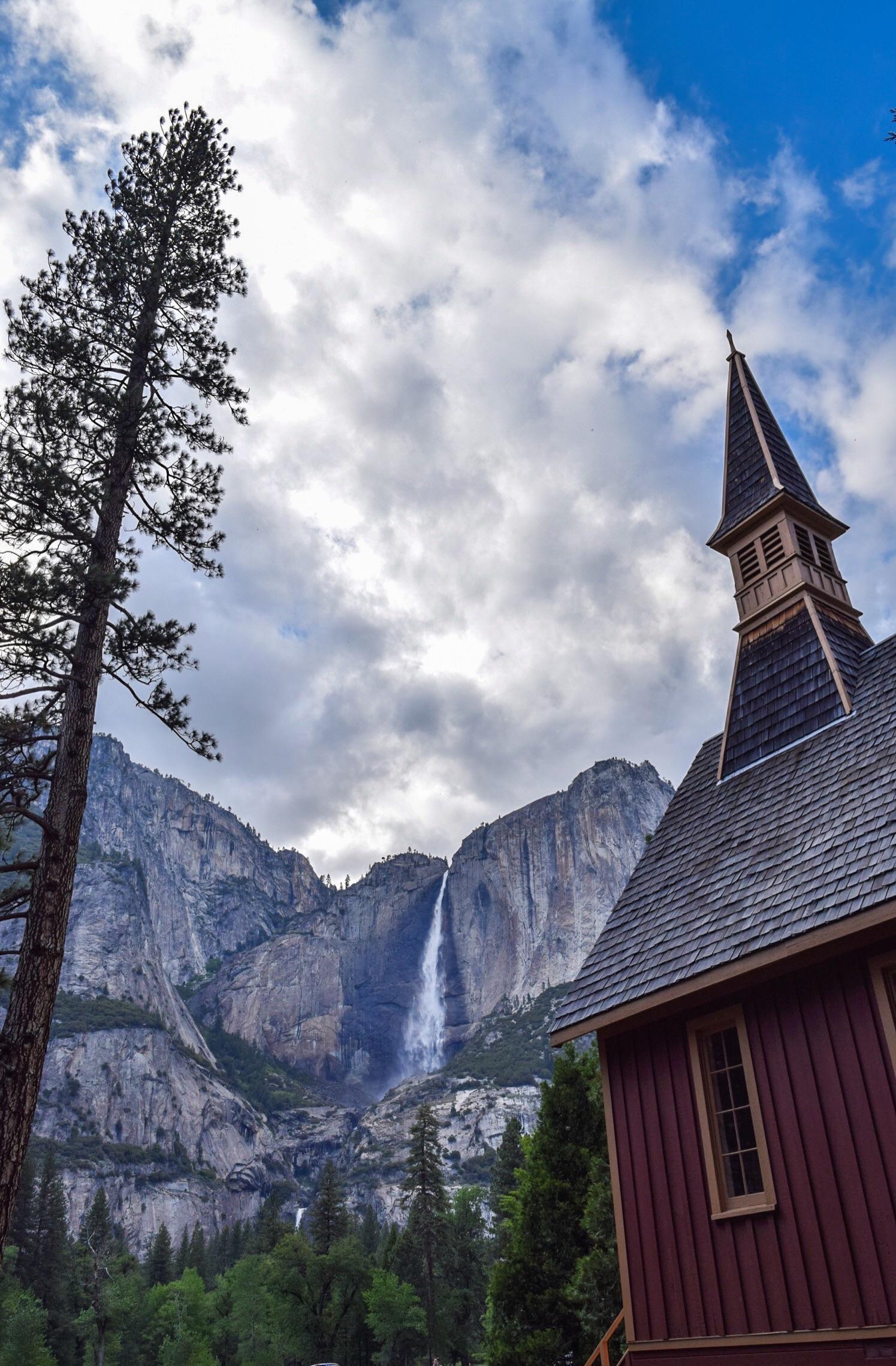 Yosemite - Upper and Lower Falls