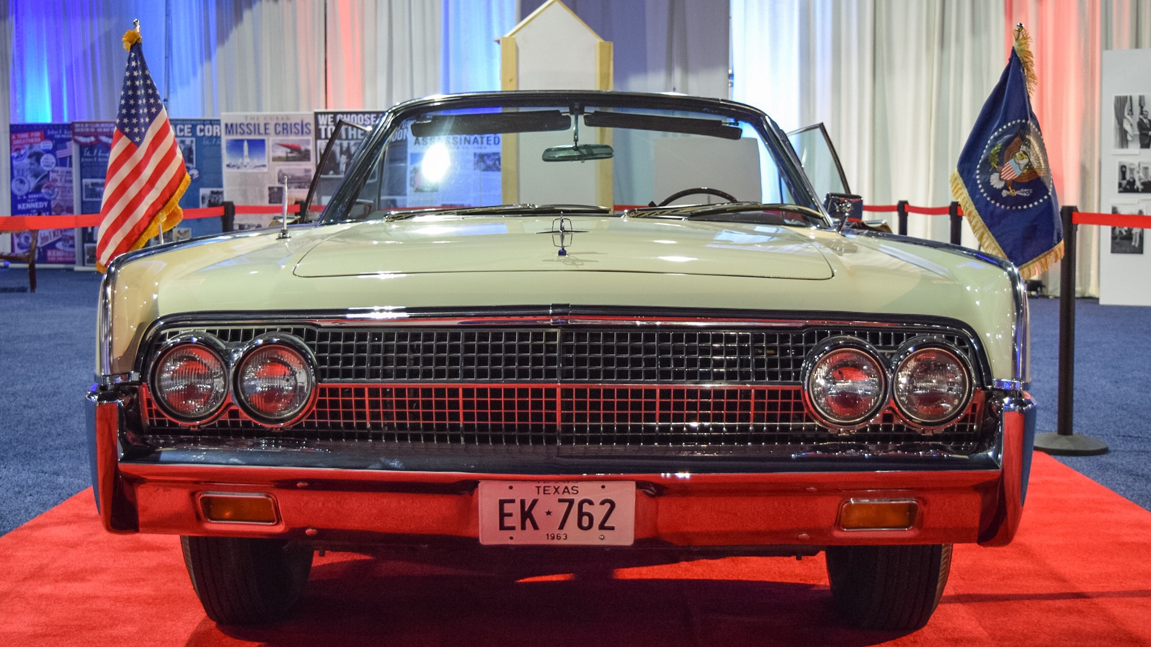 """""""The last care JFK rode in safely.""""  Politicalfest at the Pennsylvania Convention Center"""