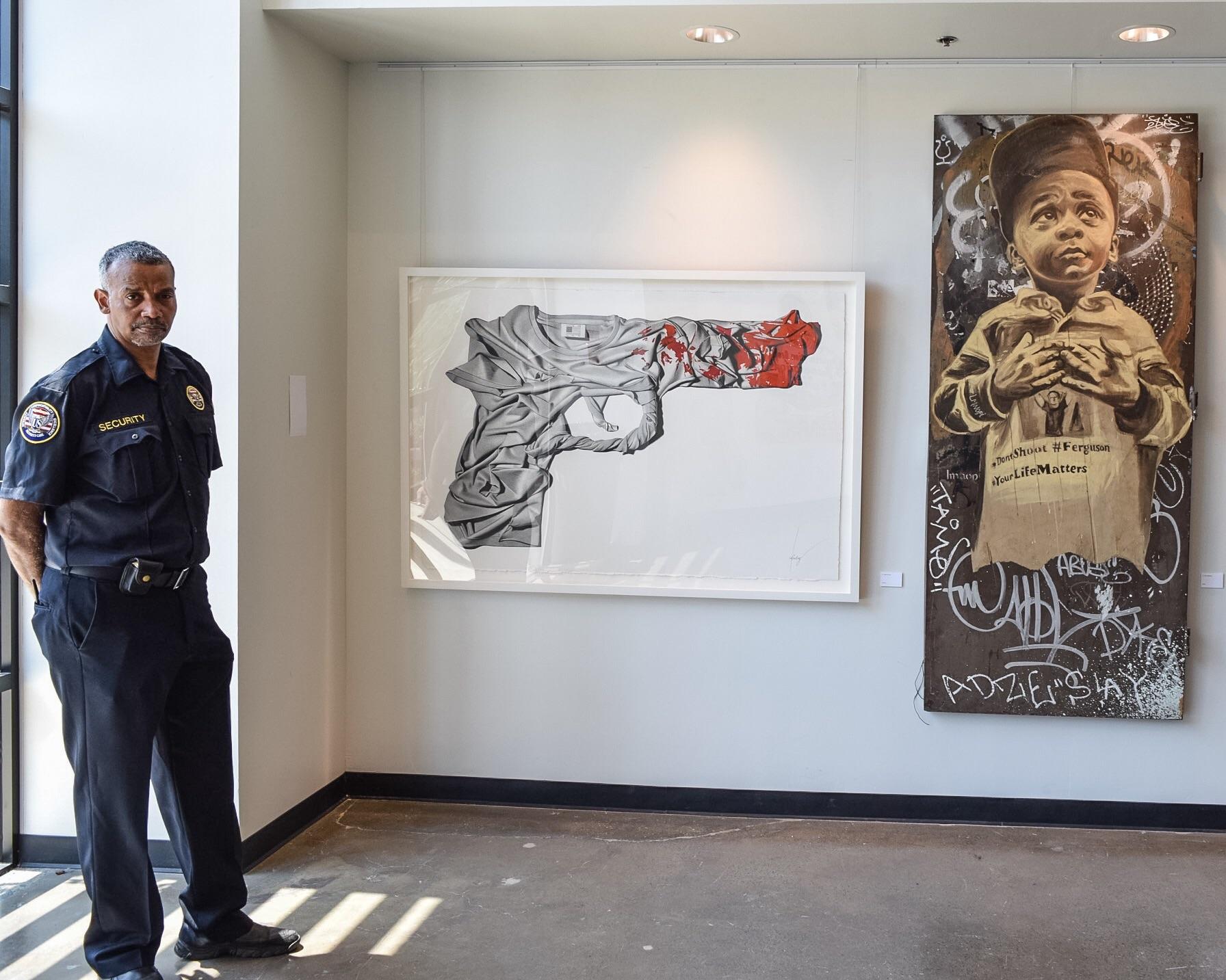 """""""Truth To Power"""" exhibit"""
