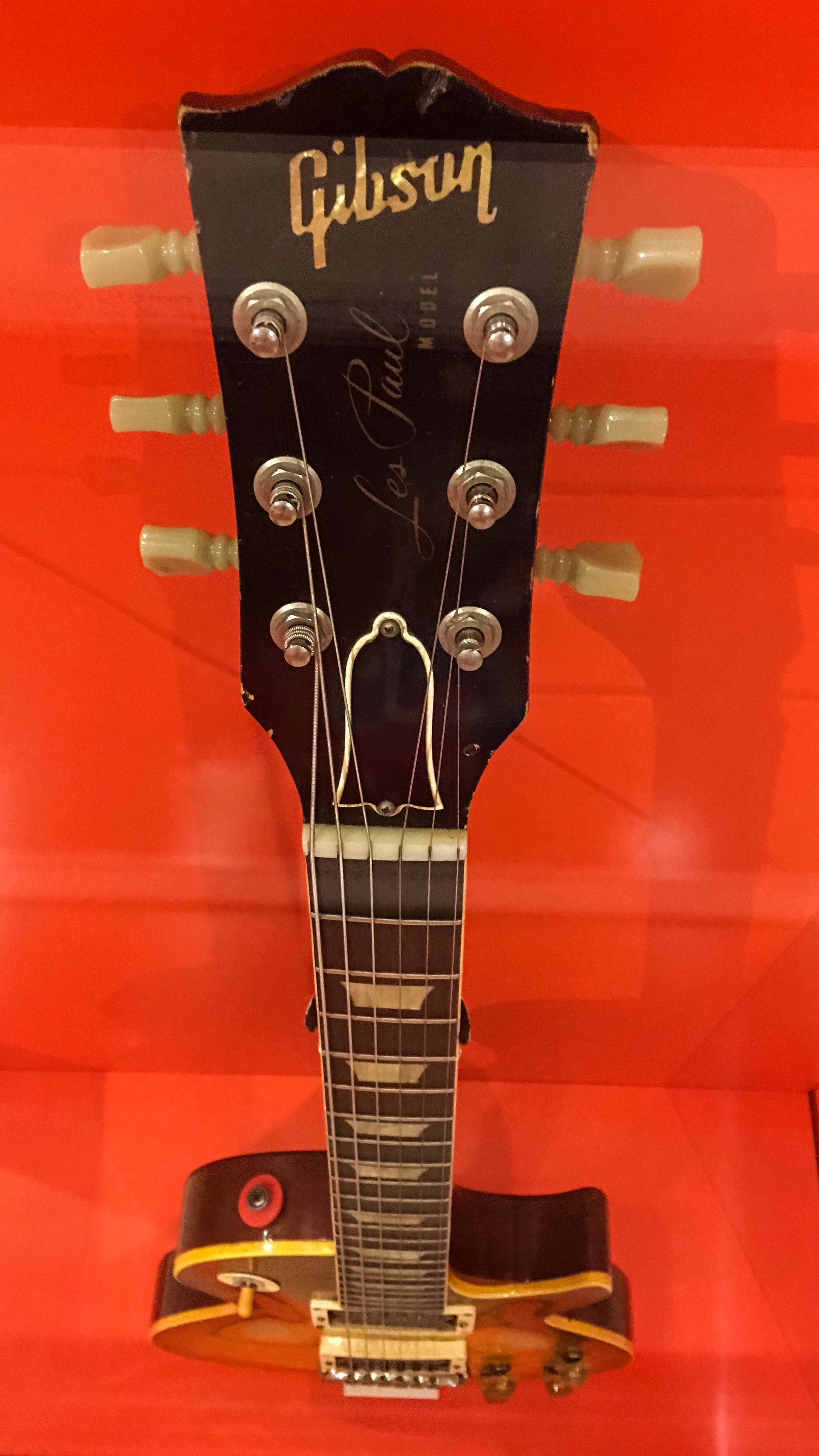 Duane Allman's guitar, used in the recording of the iconic Allman Brothers Live at the Fillmore album.