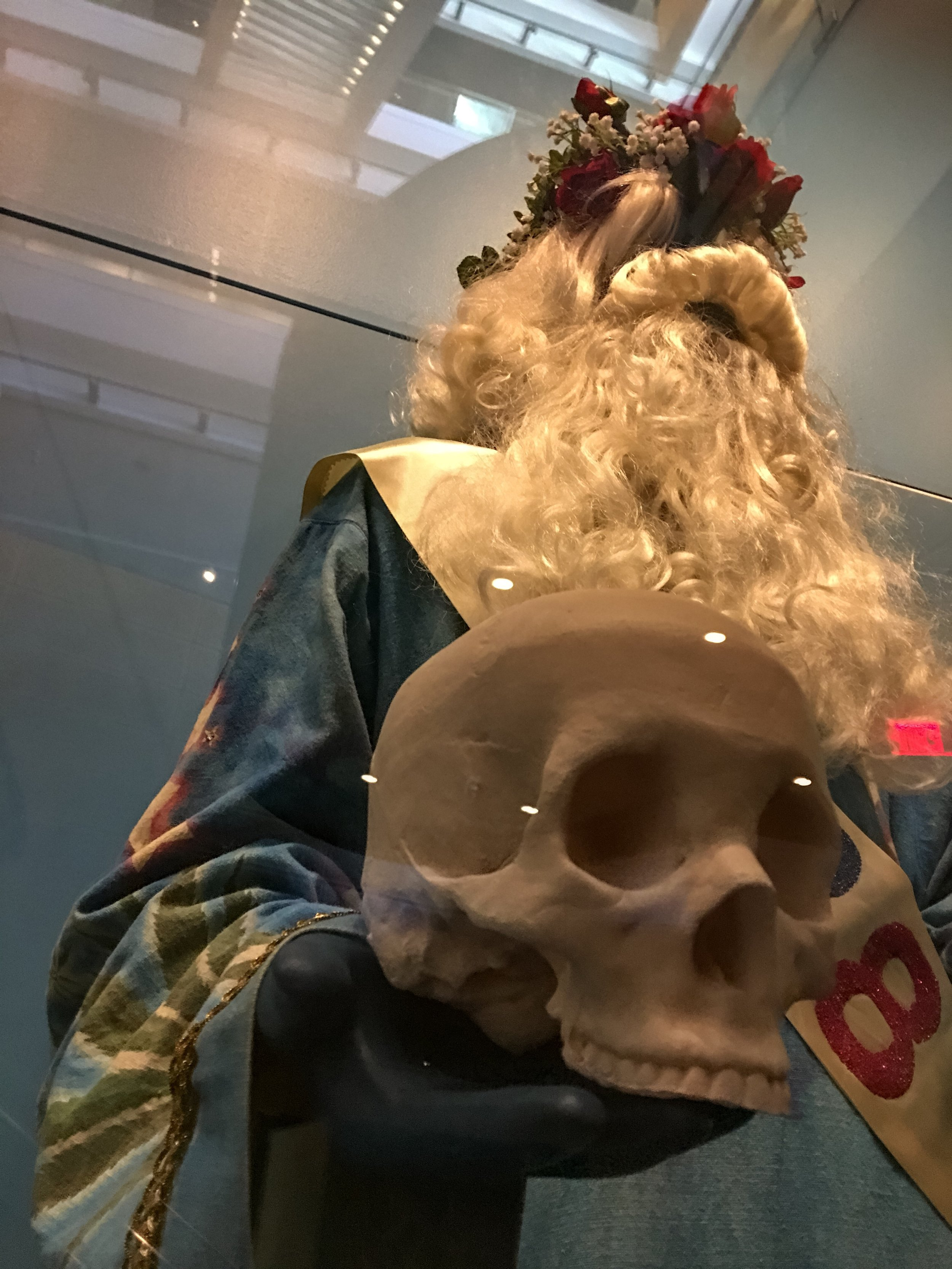 One of the costumes worn by Bill Graham during the countdown and celebration at the Grateful Dead's annual New Year's Eve concerts.