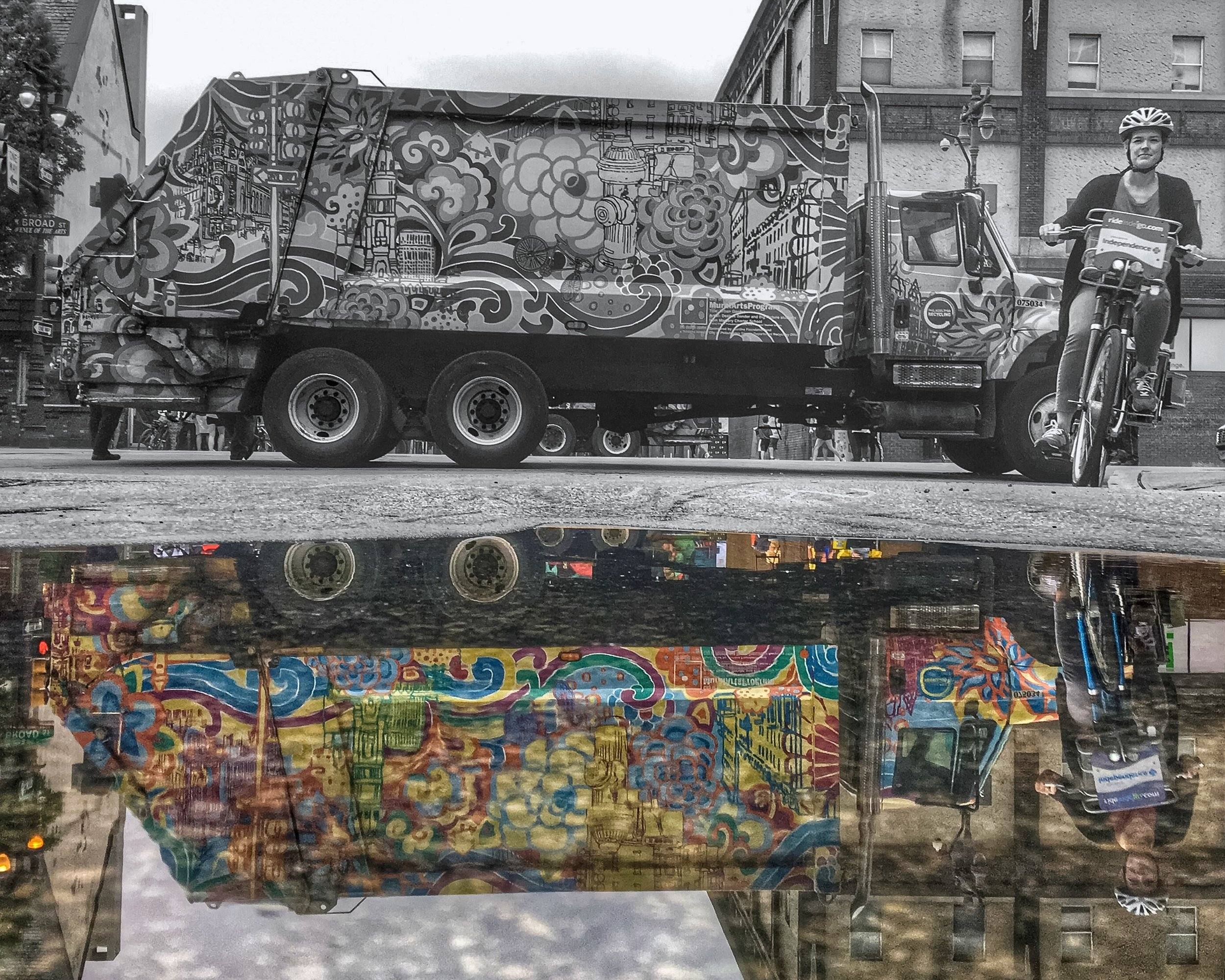 One city's trash truck is another city's treasure