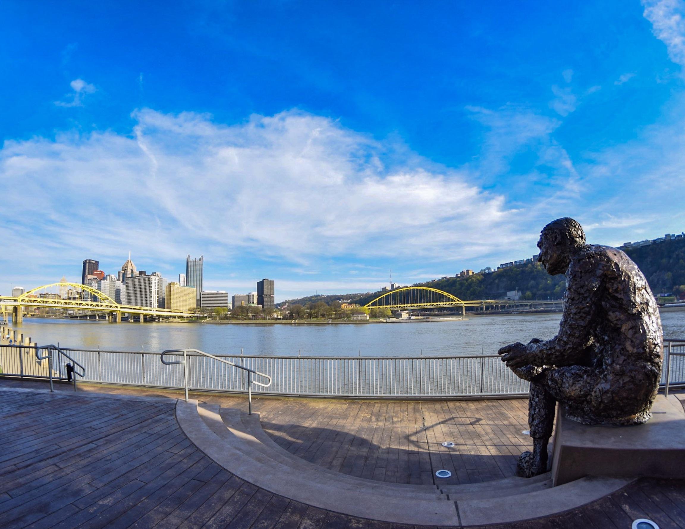 "Mr. Rogers Statue, ""Tribute to Children"""