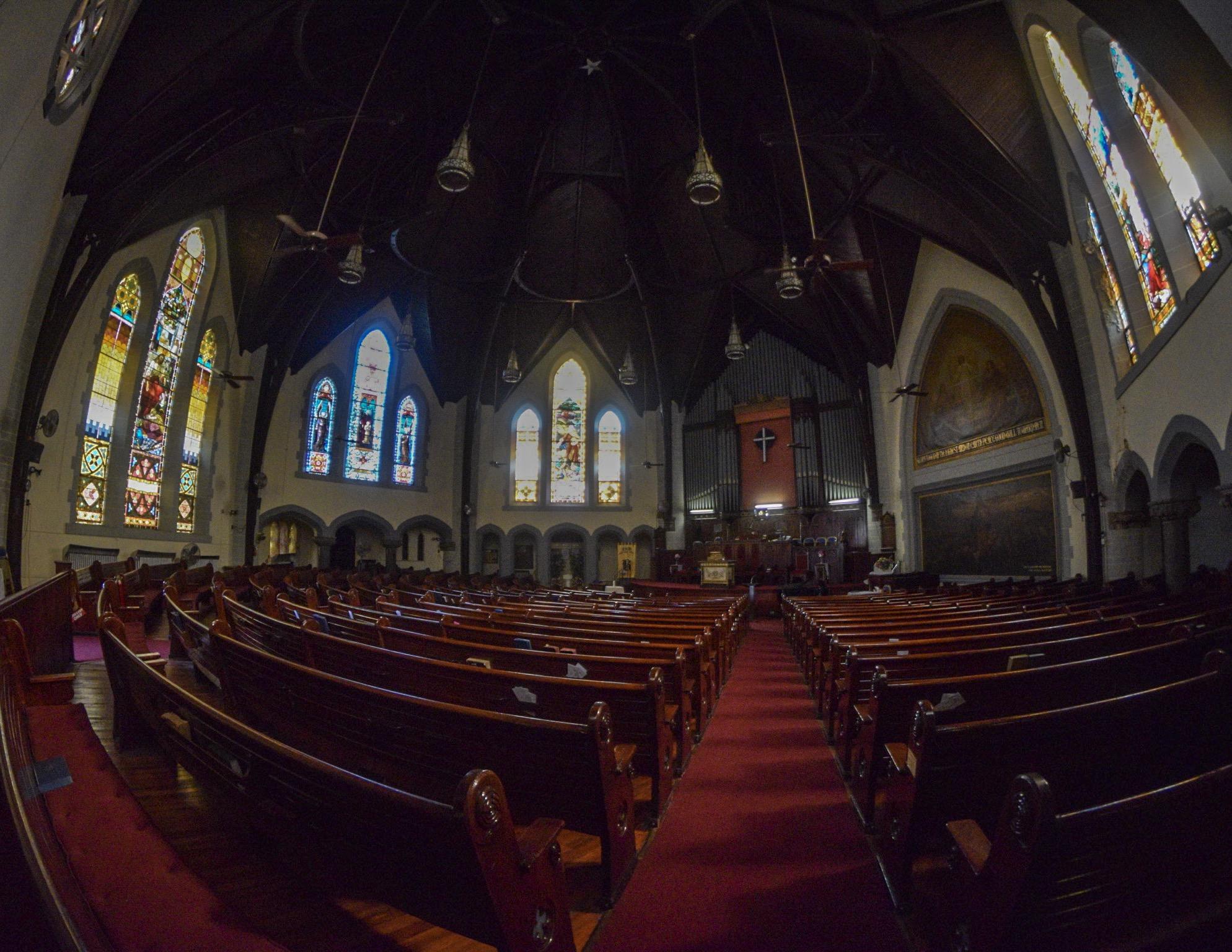 Berean Presbyterian Church, at Broad & Diamond Streets.