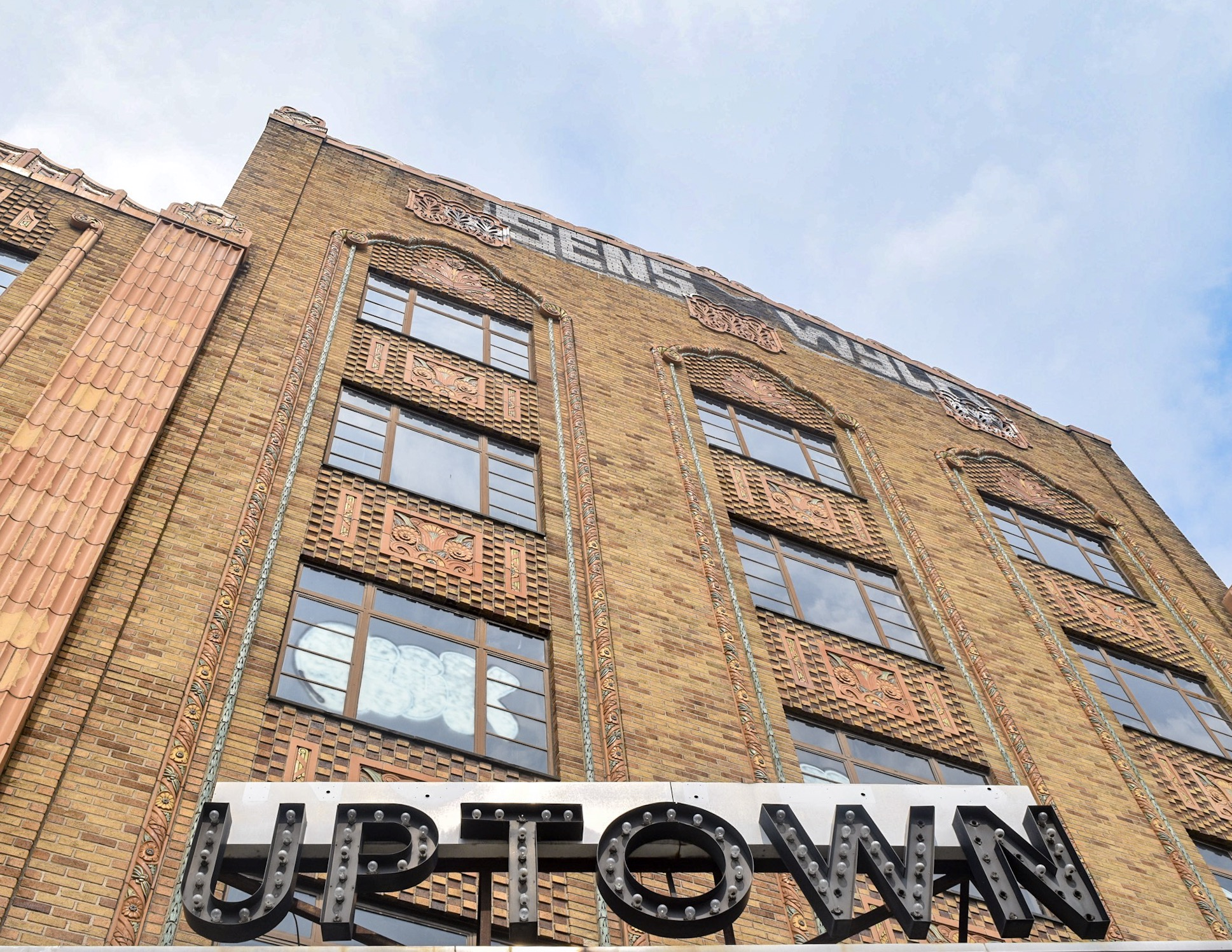 The historic Uptown Theater, which opened on the eve of the Great Depression.
