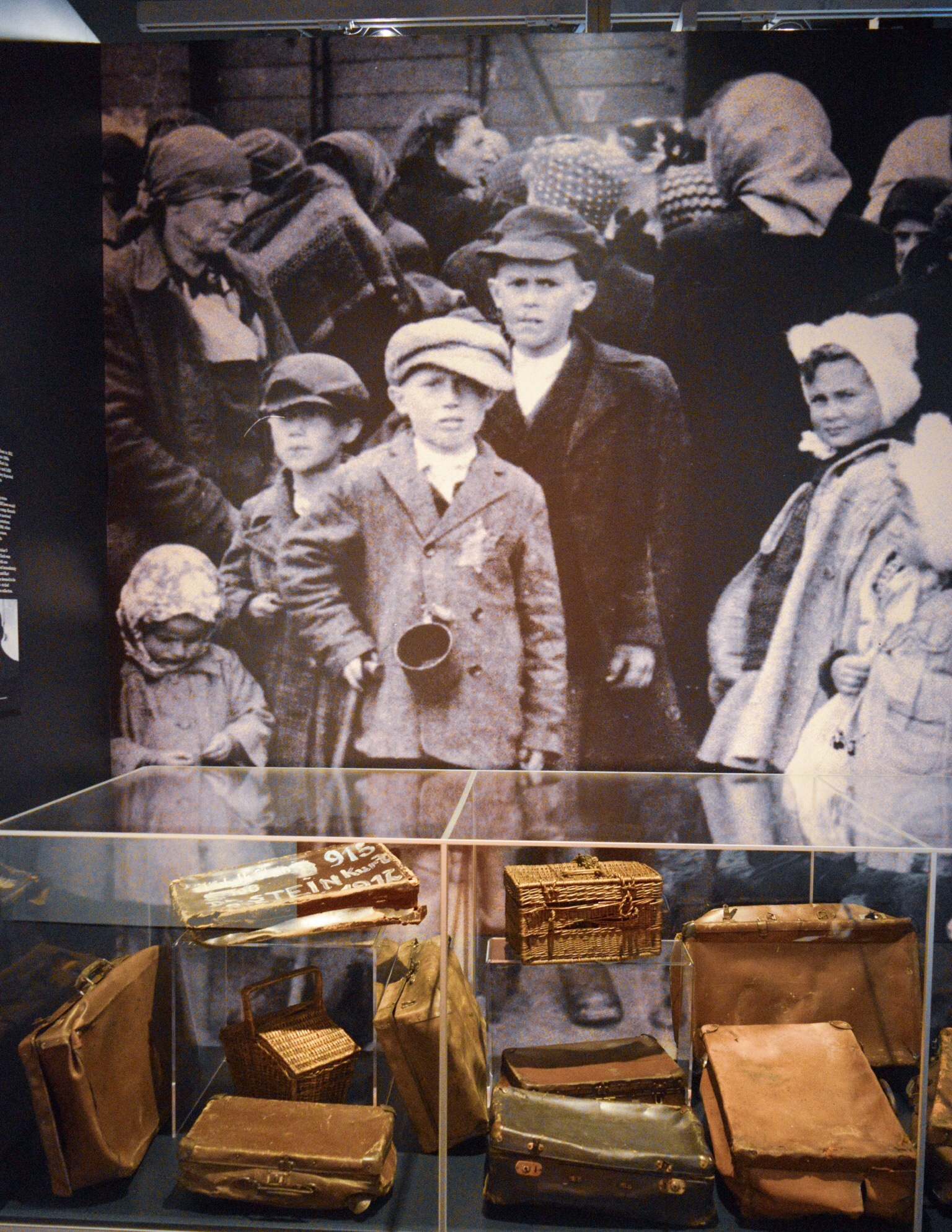 Luggage confiscated from people sent to Auschwitz