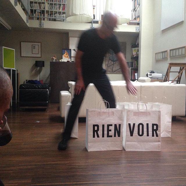 """""""PCM"""", performance à choix multiple, de Jean-François Guillon. Soirée donateurs N/Z #jeanfrancoisguillon #revuenz"""