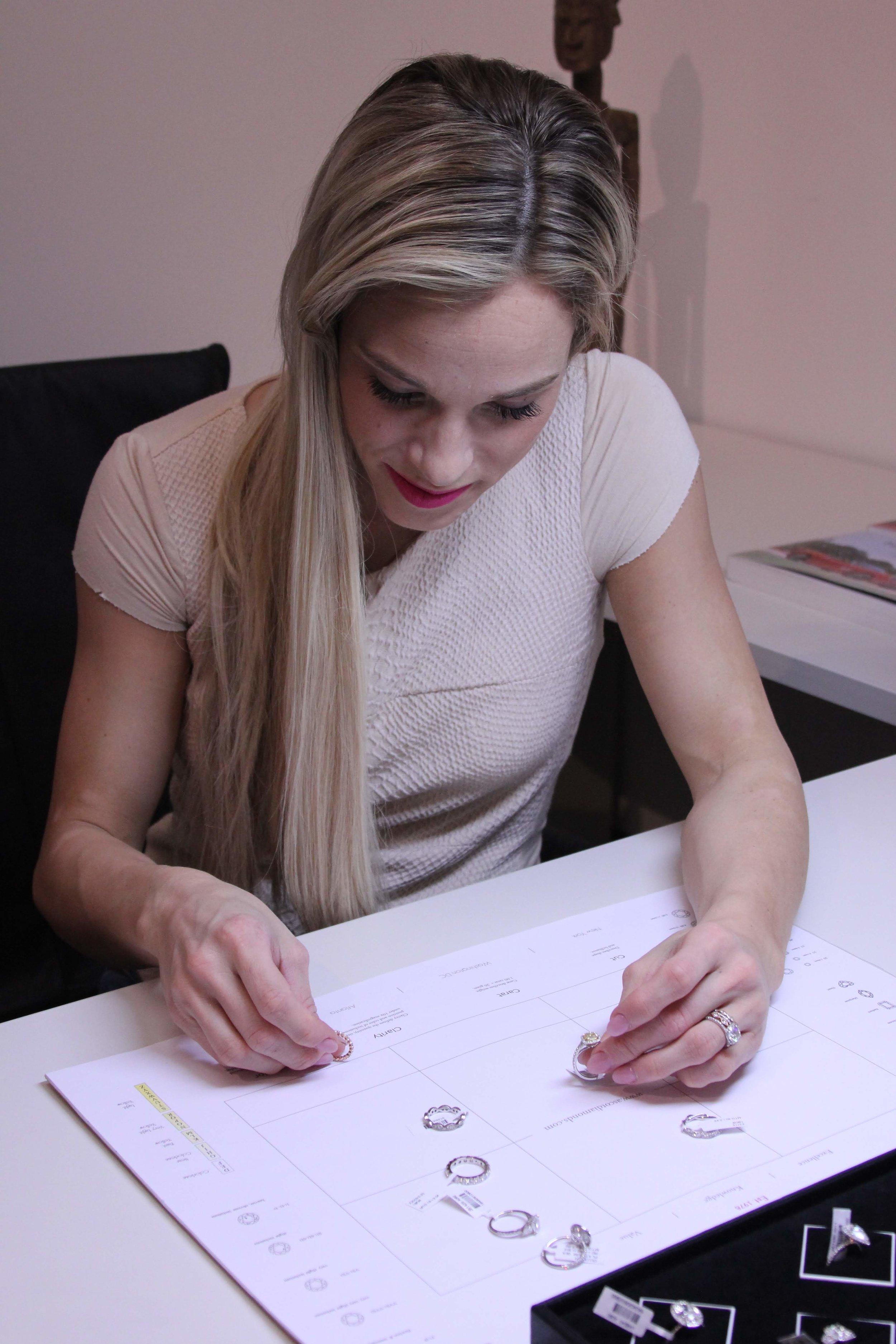 Choosing an eternity ring at Ascot Diamonds
