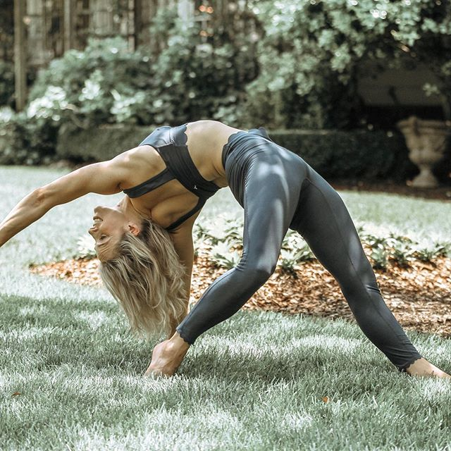 Wild thing = the most photoworthy yoga pose of all time. It's strength •  beauty • grace • long lines of openness • backbending • open hearted • expressive • bliss #yogamama