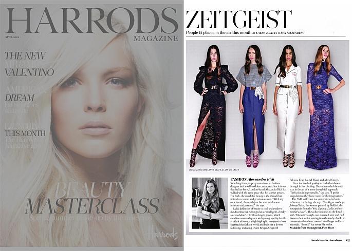 Harrods, Alessandra Rich