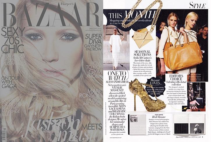 Harper's Bazaar UK, Alessandra Rich