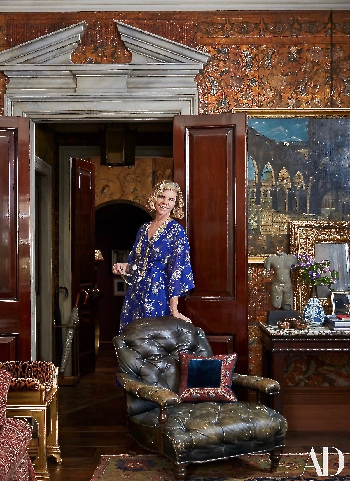 Architectural Digest#Laura#Sartori Rimini#Styled by#Hamish Bowles