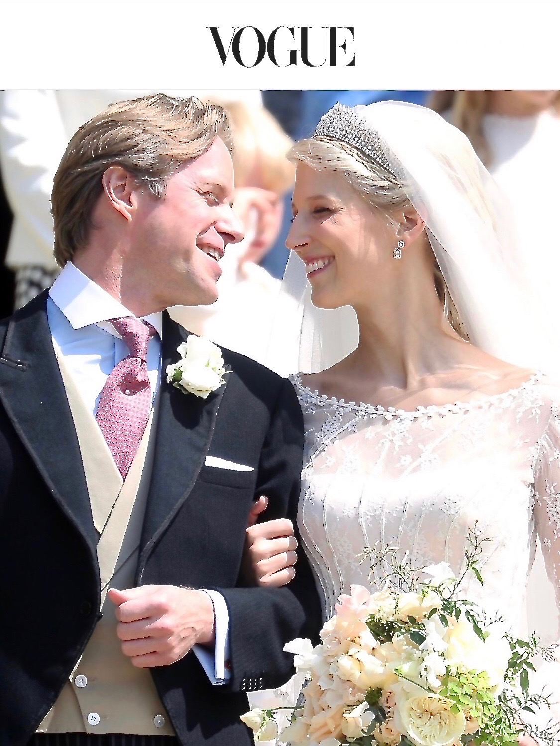 Vogue#Royal Wedding#May 2019#Lady Gabriella#Windsor