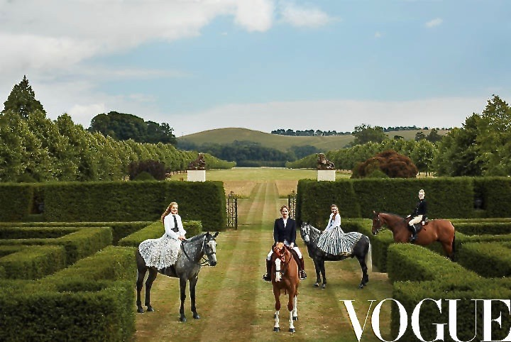 Vogue#US#Styled by#Plum Sykes