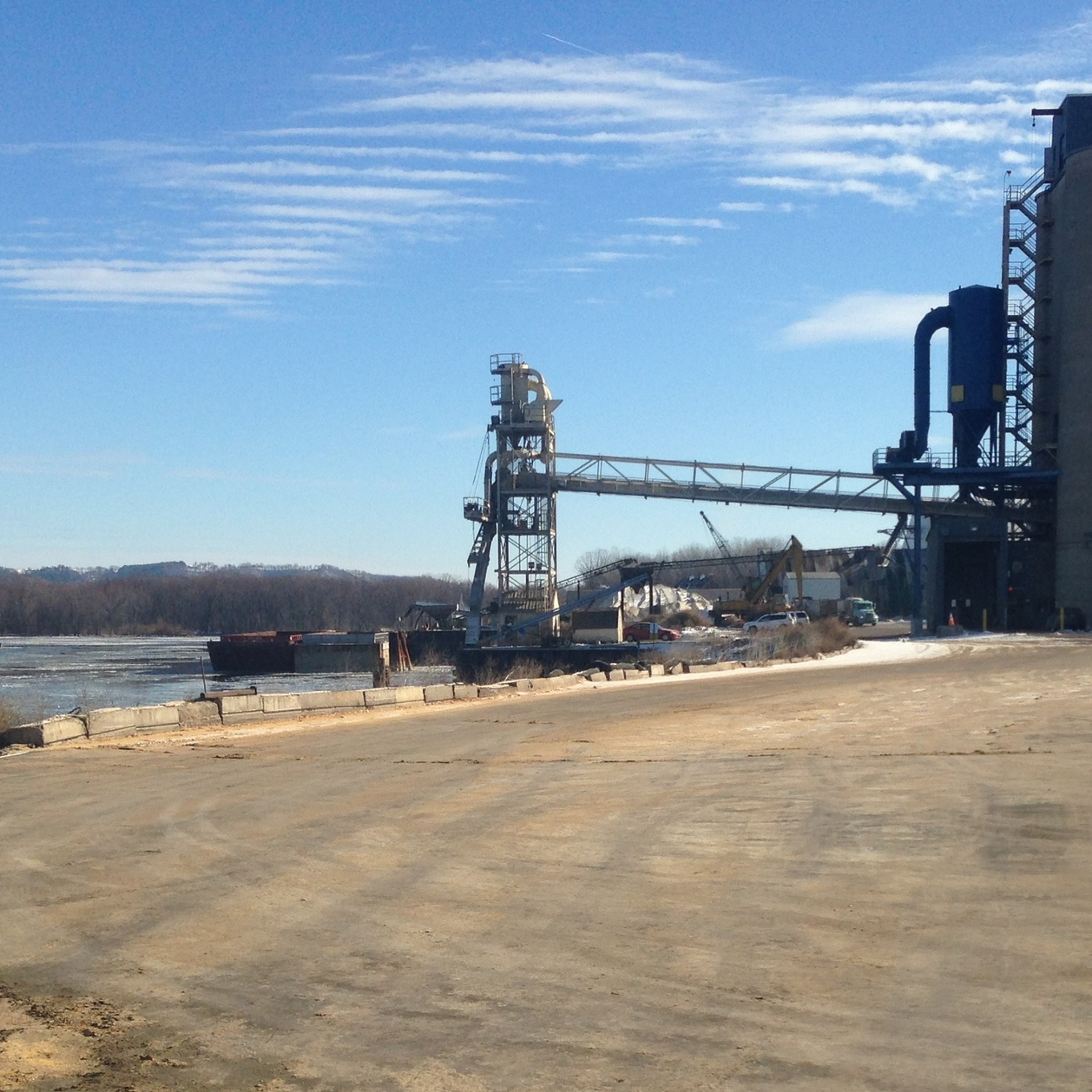 Pinnacle Engineering - Civil Engineering Projects - Winona Commercial Dock Grading and Drainage