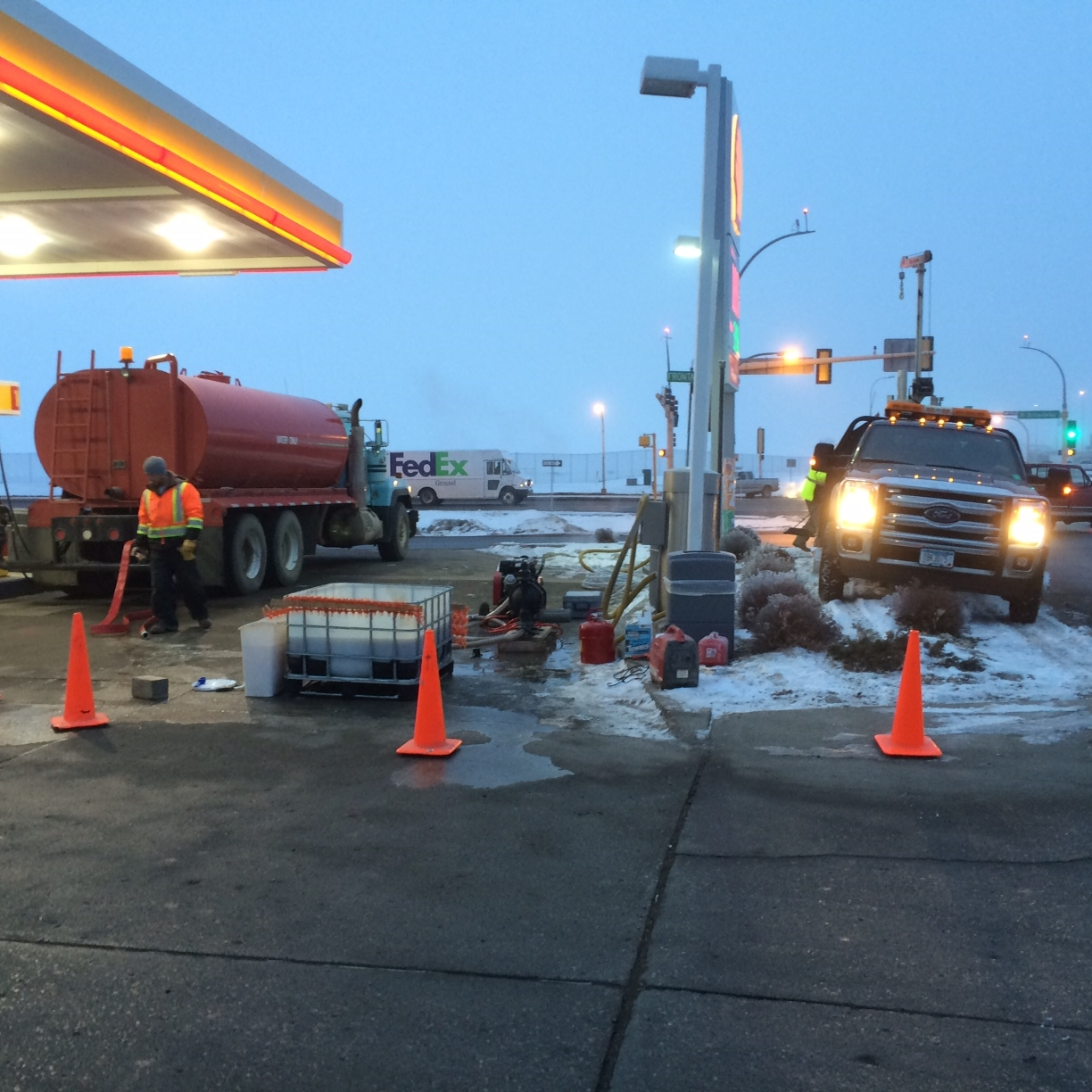 Pinnacle Engineering - Bioremediation Projects - Petroleum Service Station