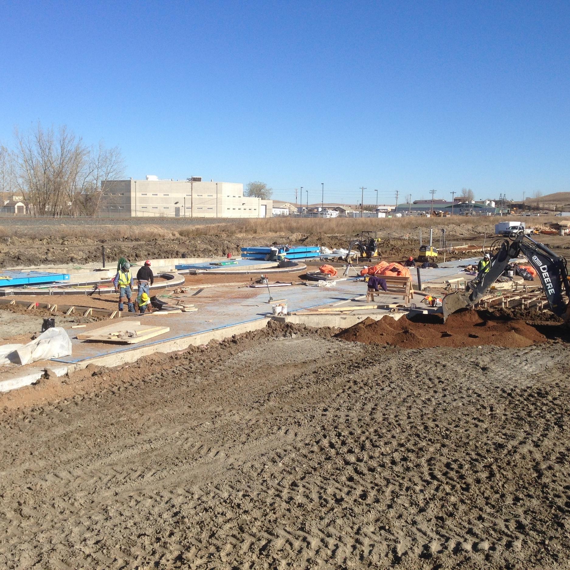 Pinnacle Engineering - Civil Engineering Projects - North Dakota Frac Sand Terminal