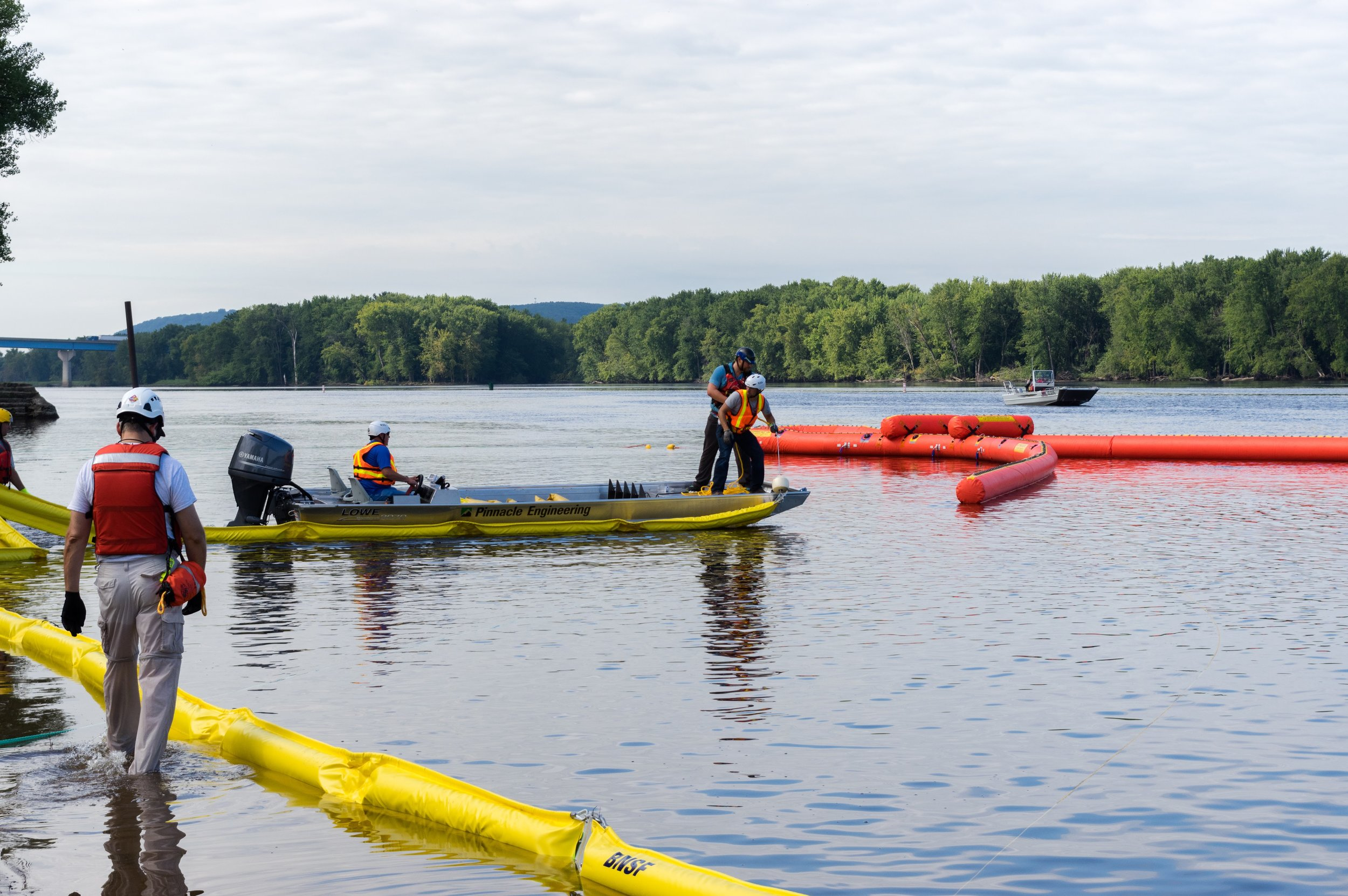 PINNACLE & FIRST RESPONDERS TAKE PART IN SPILL RESPONSE TRAINING   Learn More