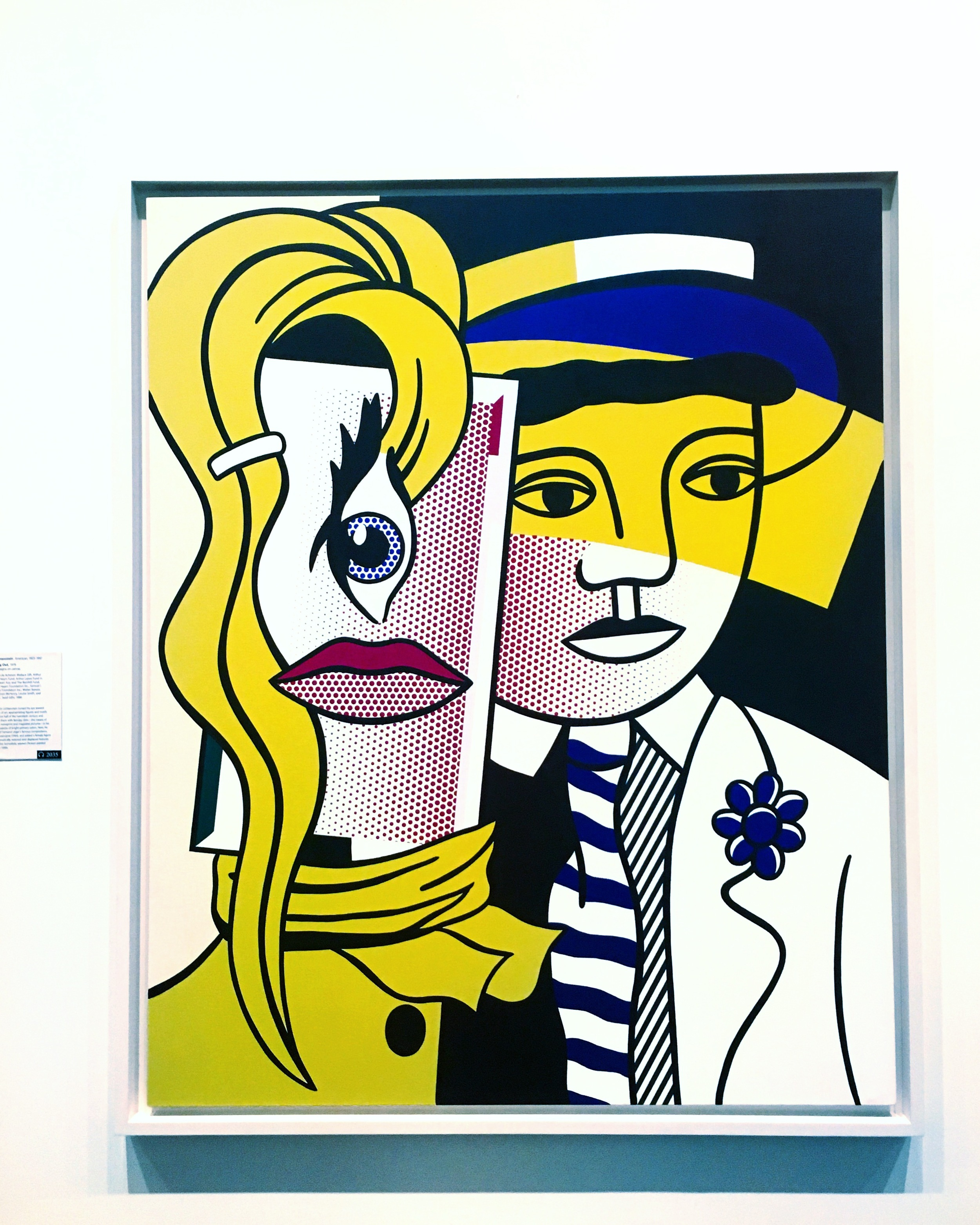 Roy Lichtenstein,  Stepping O  ut , 1978 (The Metropolitan Museum of Art)