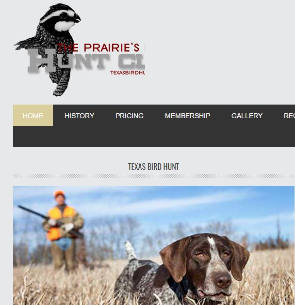 Prairie's End Hunt Club Gainesville, TX (972) 816-0427 -