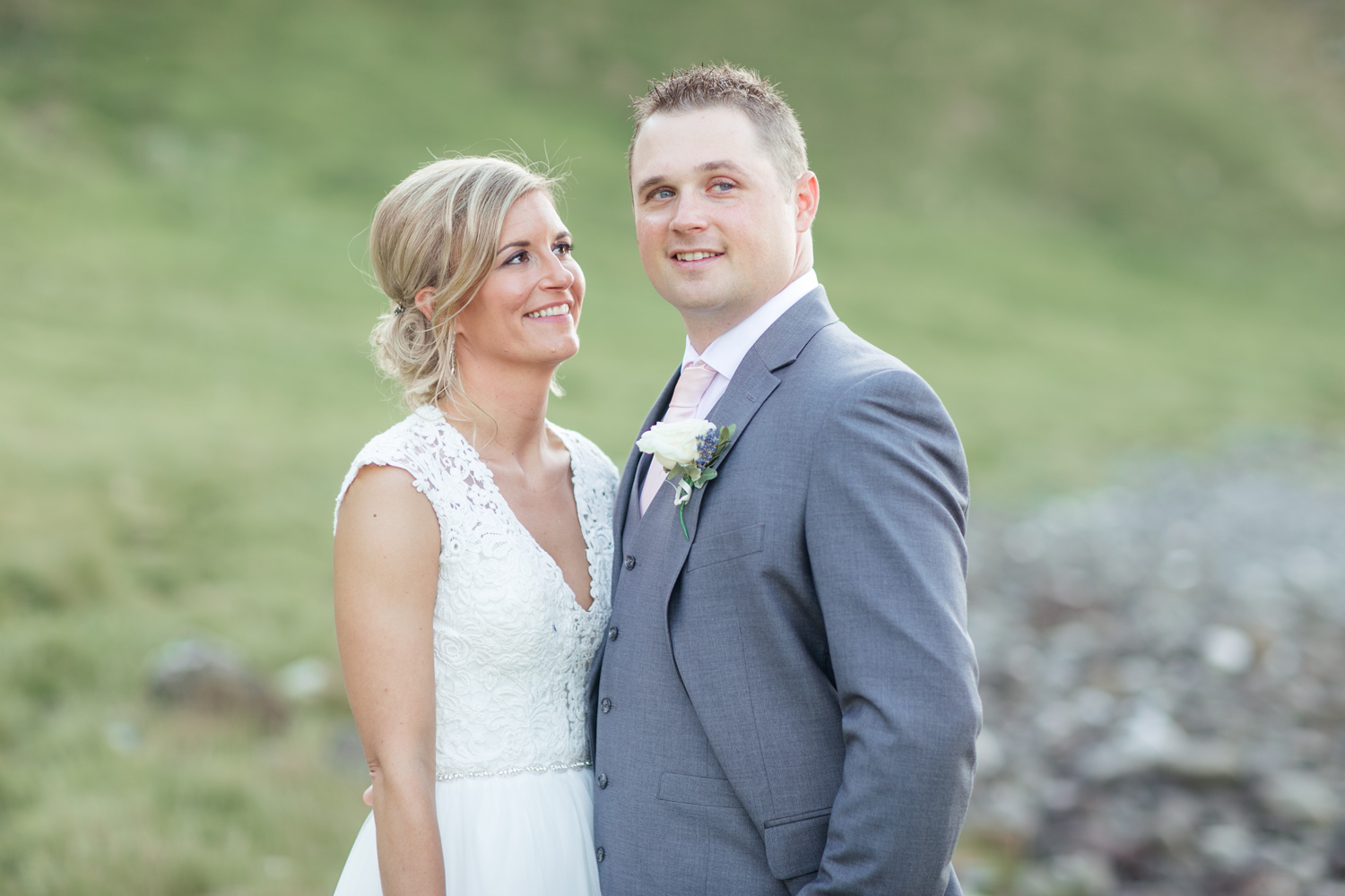 elopement wedding photographs after the ceremony