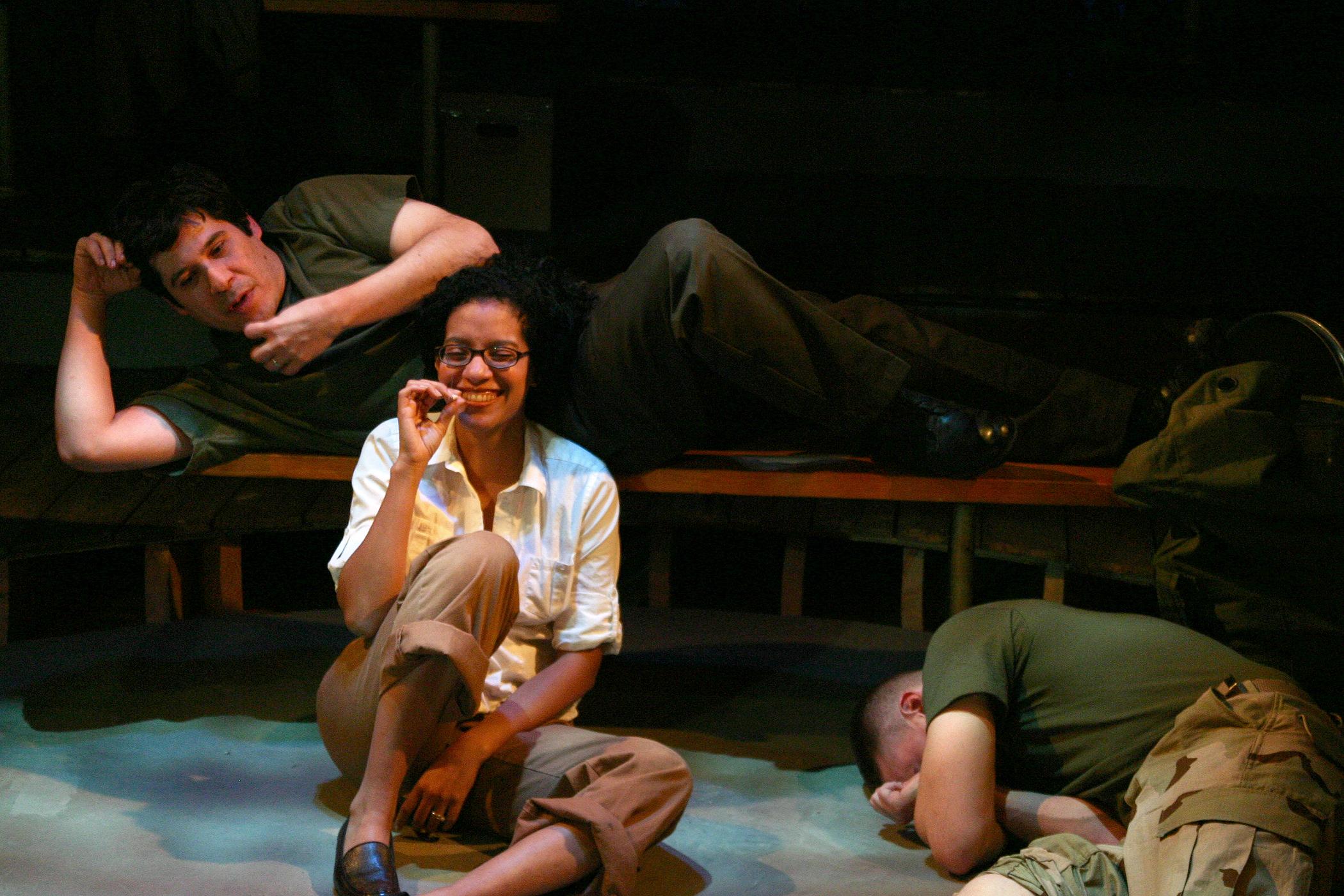 Triney Sandoval, Zabryna Guevara, and Armando Riesco
