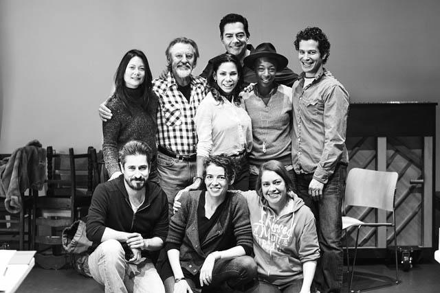 The cast of  Daphne's Dive