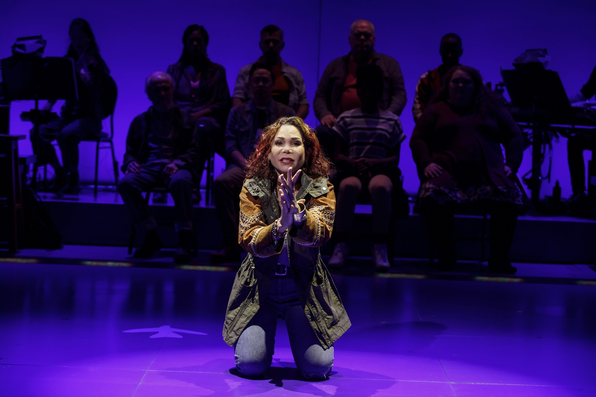 """At the Public Theater, a Mother, a Daughter, and Deportation."" -Liz Robbins,  The New York Times   Daphne Rubin-Vega. Photo: Joan Marcus"