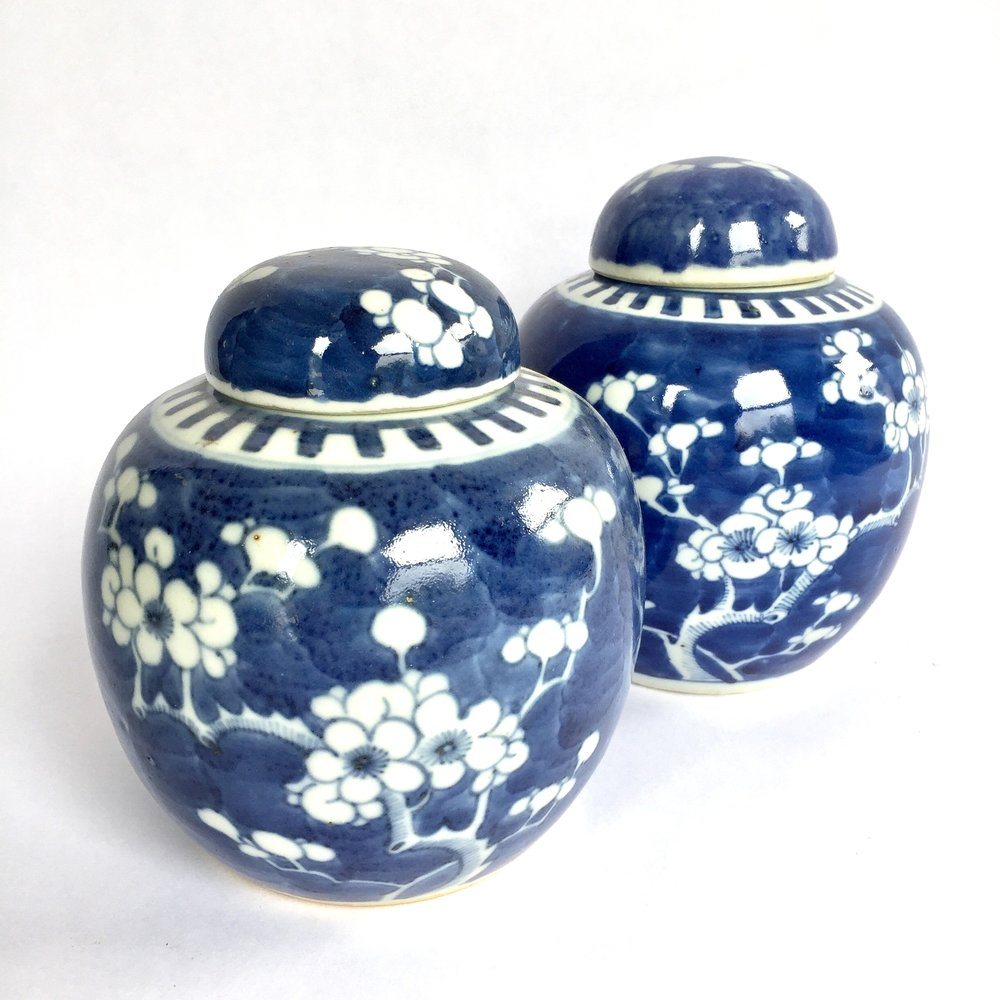Blue And White Chinoiserie Vessels