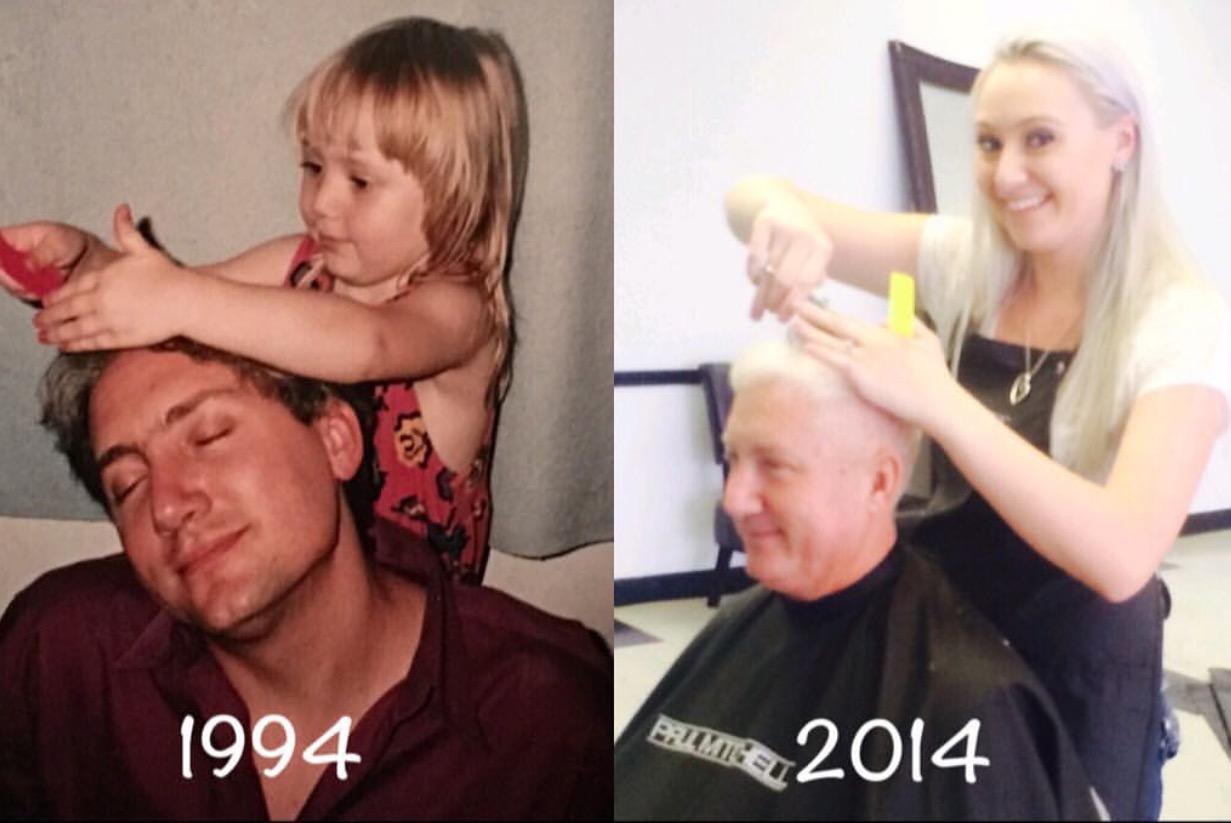 My dad has been my longest running client :)