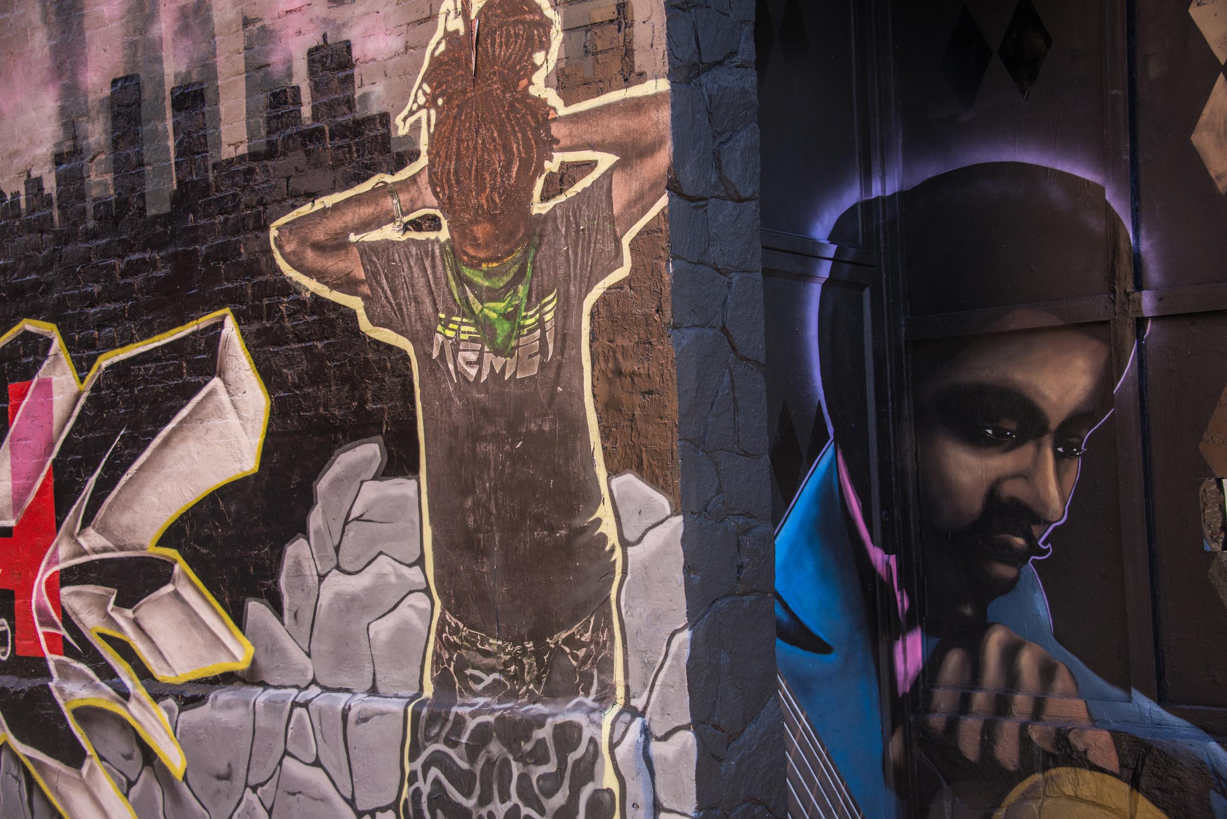 U Street walls
