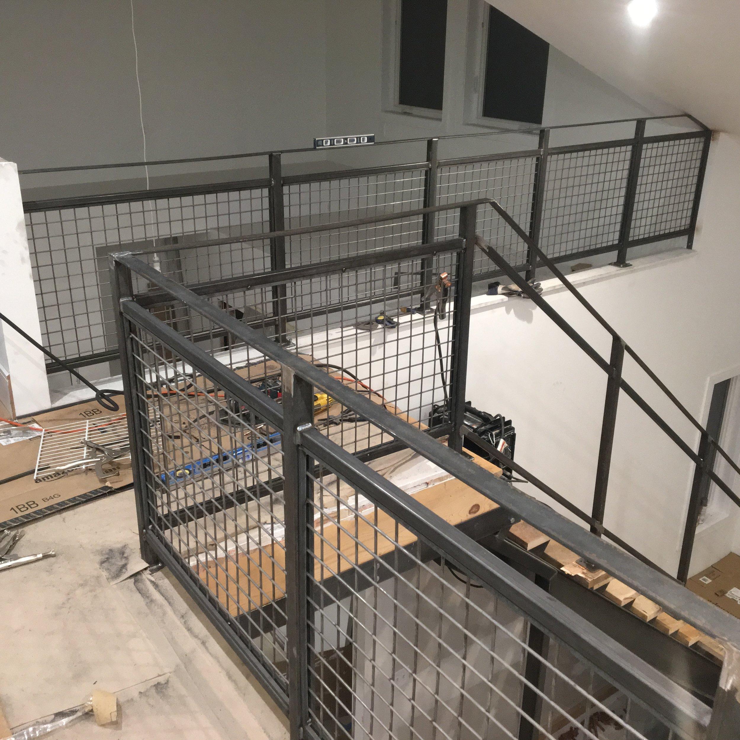 Handrail Work.JPG