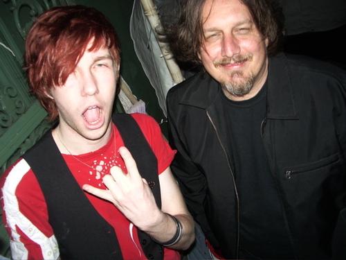 Back in my punk rock days when I first met my hero, Kevn Kinney.