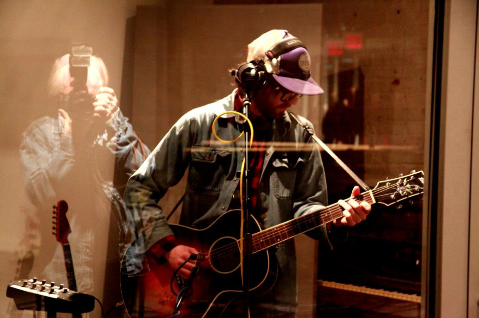Recording at Room 17 in Brooklyn by Rick Edwards.